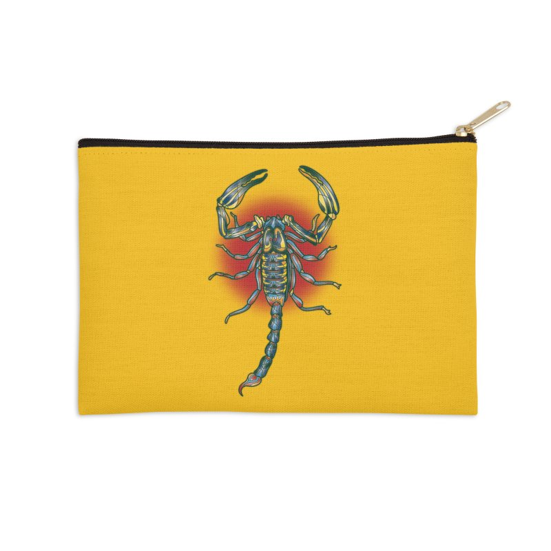 sting me Accessories Zip Pouch by okik's Artist Shop
