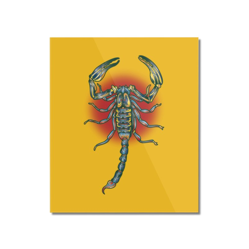 sting me Home Mounted Acrylic Print by okik's Artist Shop