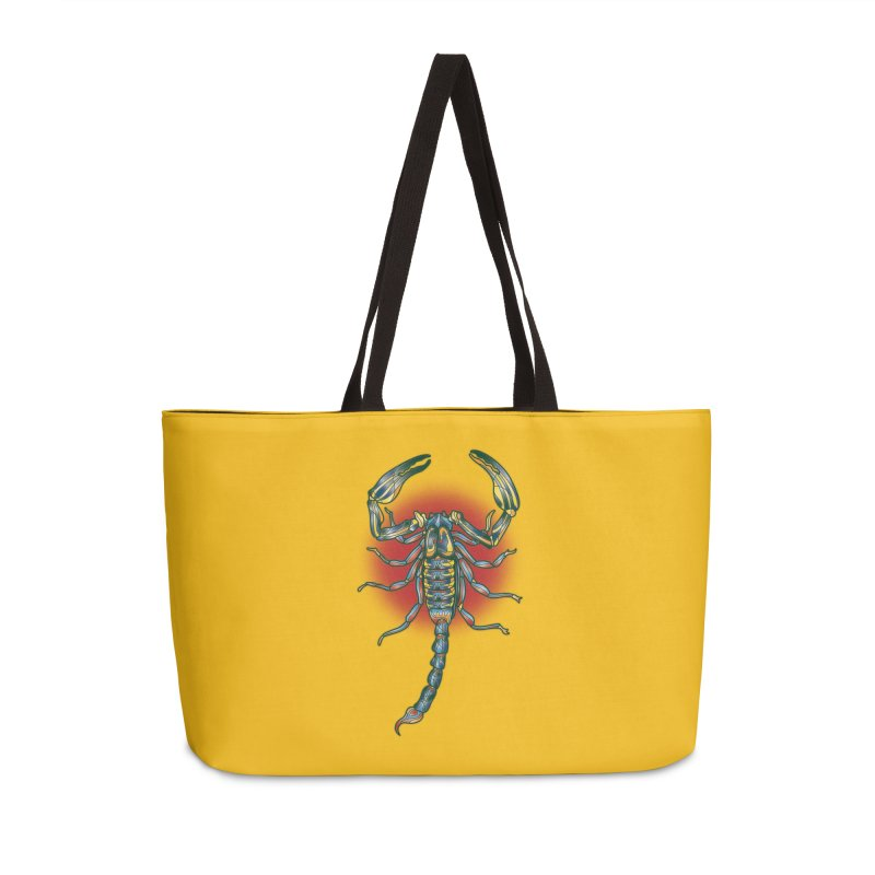 sting me Accessories Weekender Bag Bag by okik's Artist Shop
