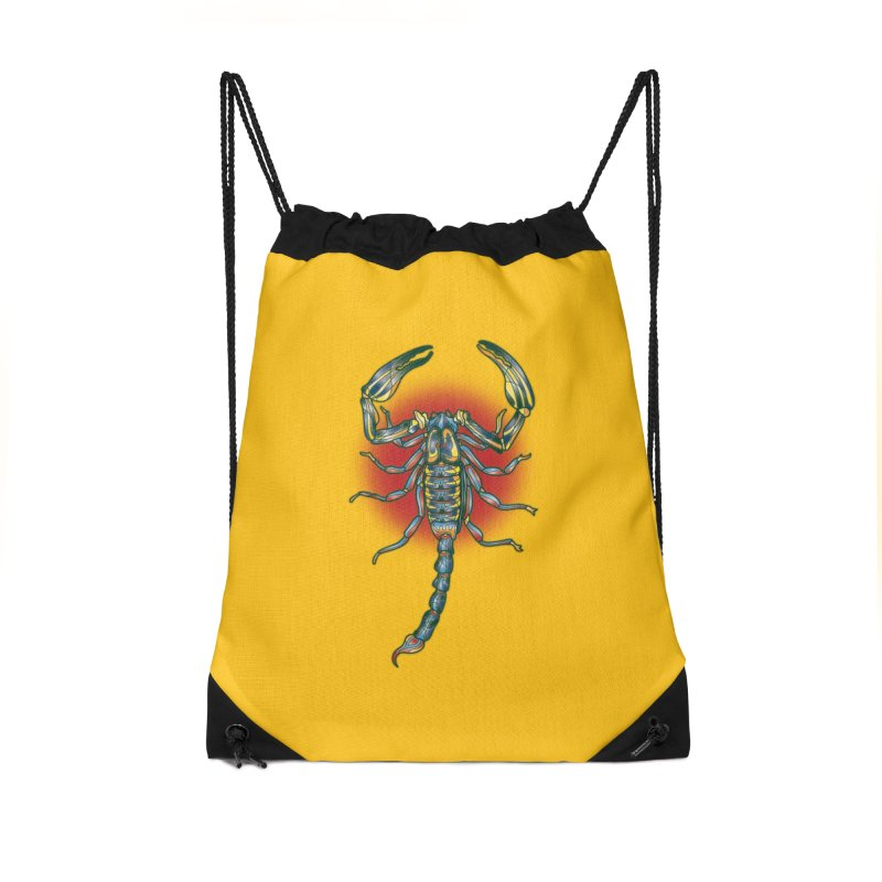 sting me Accessories Drawstring Bag Bag by okik's Artist Shop
