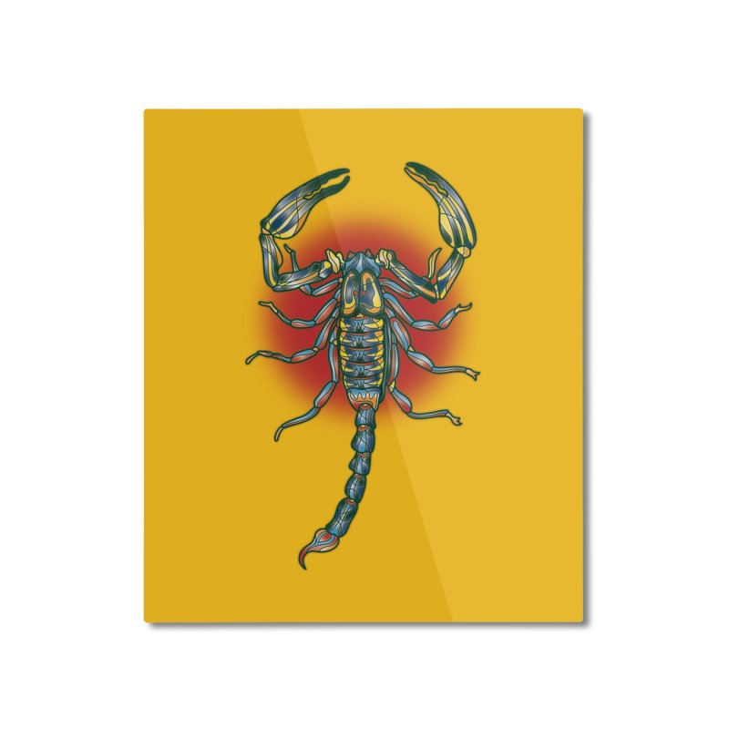 sting me Home Mounted Aluminum Print by okik's Artist Shop