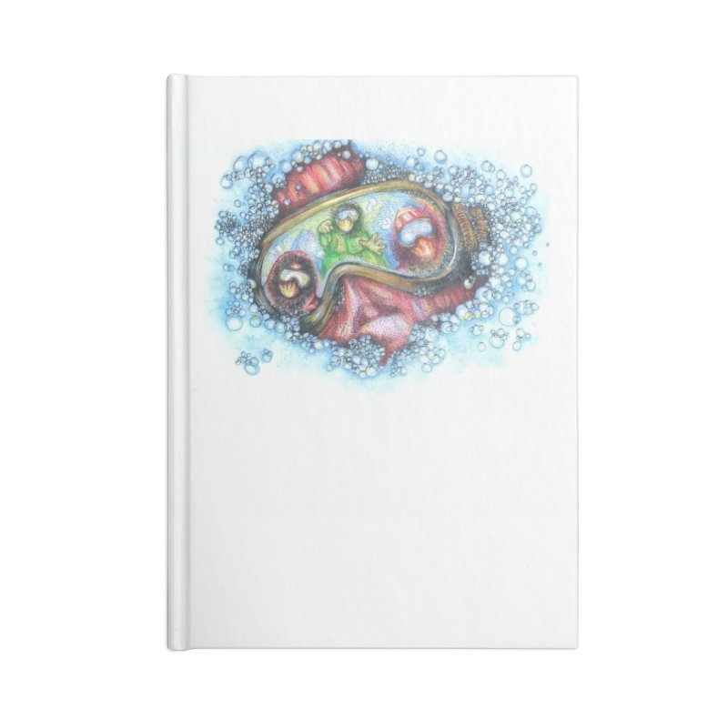 survivor Accessories Lined Journal Notebook by okik's Artist Shop