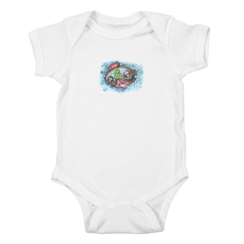 survivor Kids Baby Bodysuit by okik's Artist Shop