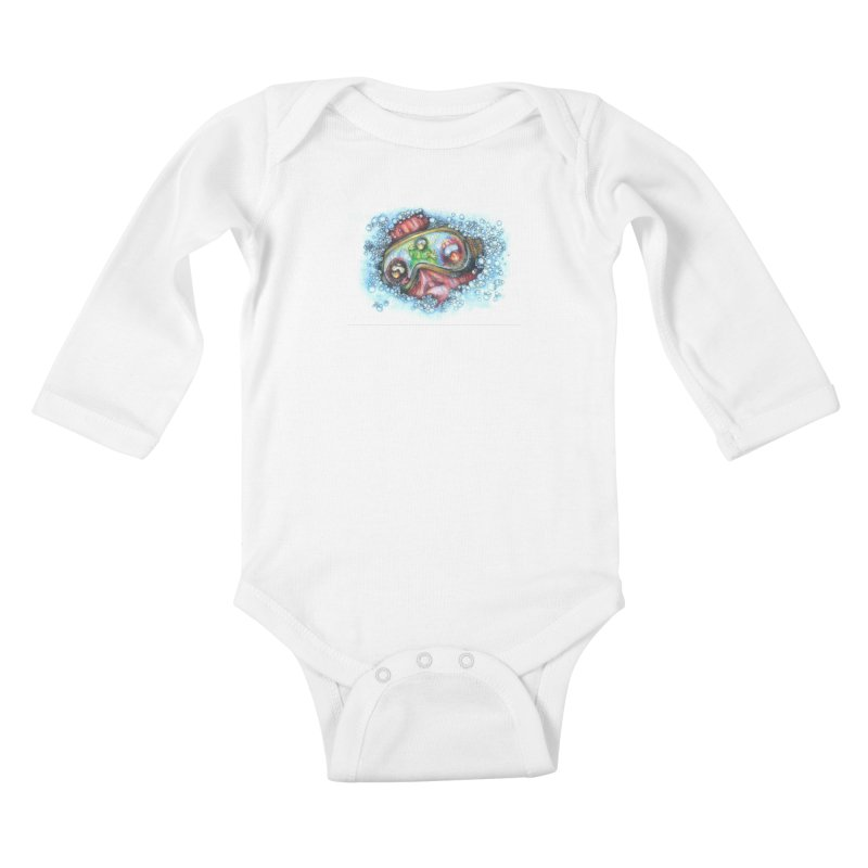 survivor Kids Baby Longsleeve Bodysuit by okik's Artist Shop