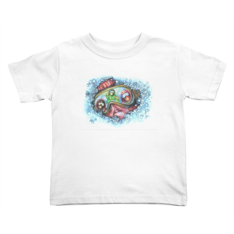 survivor Kids Toddler T-Shirt by okik's Artist Shop