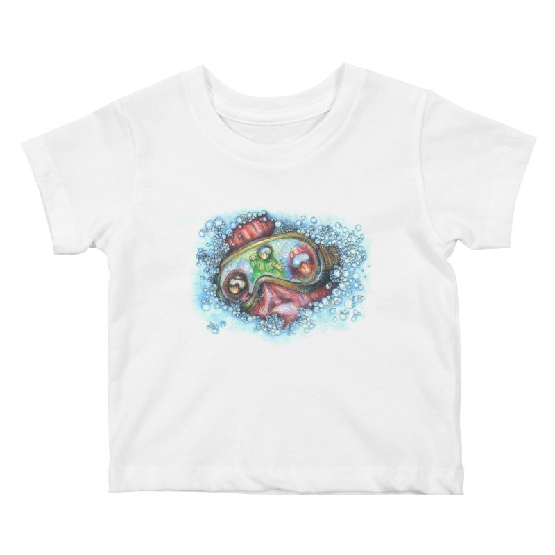 survivor Kids Baby T-Shirt by okik's Artist Shop