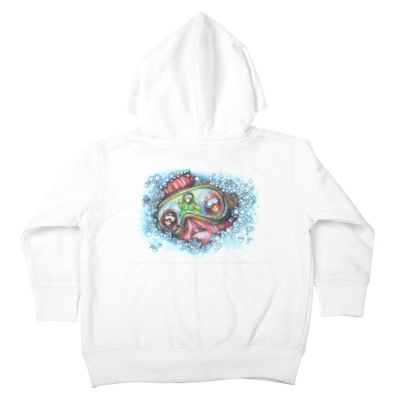 survivor Kids Toddler Zip-Up Hoody by okik's Artist Shop