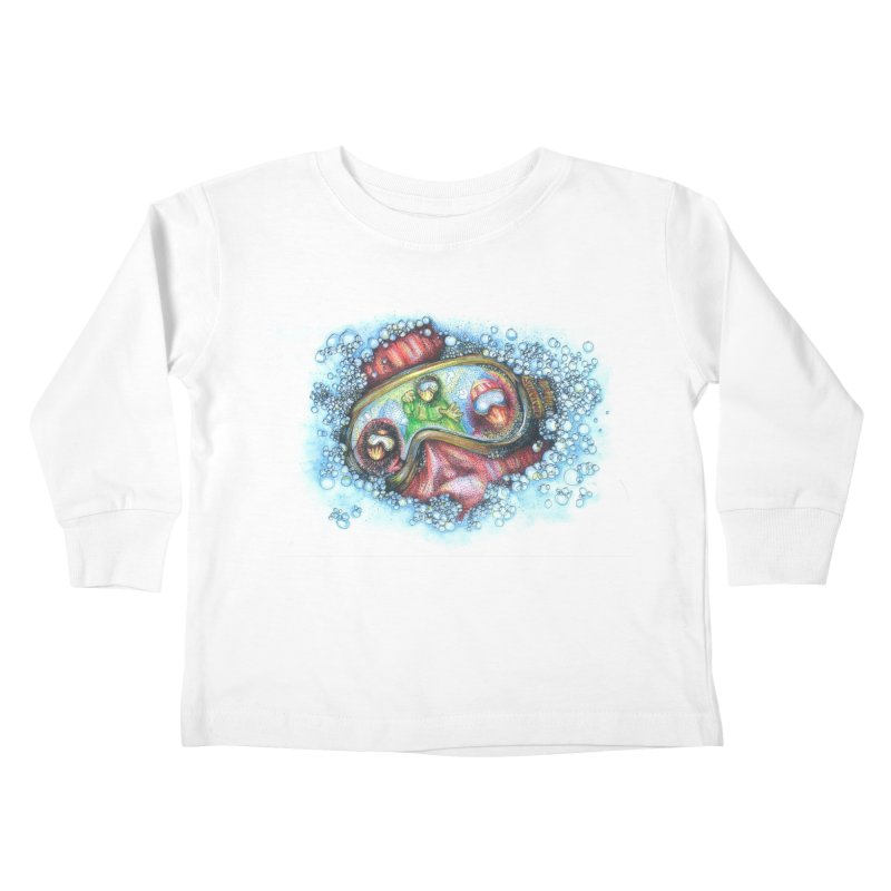 survivor Kids Toddler Longsleeve T-Shirt by okik's Artist Shop