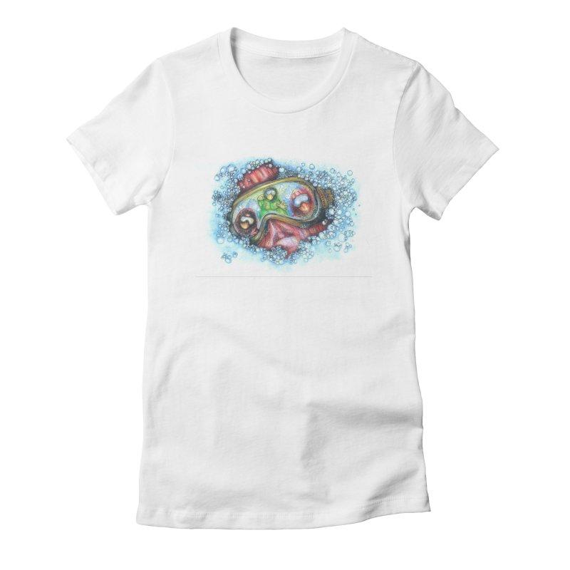 survivor Women's T-Shirt by okik's Artist Shop