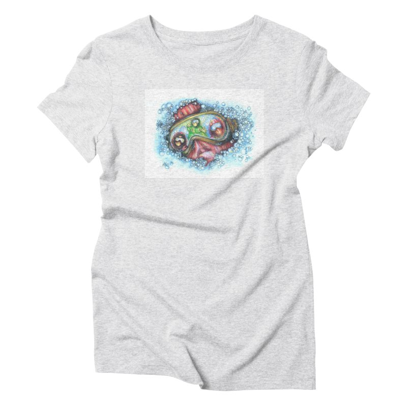 survivor Women's Triblend T-Shirt by okik's Artist Shop