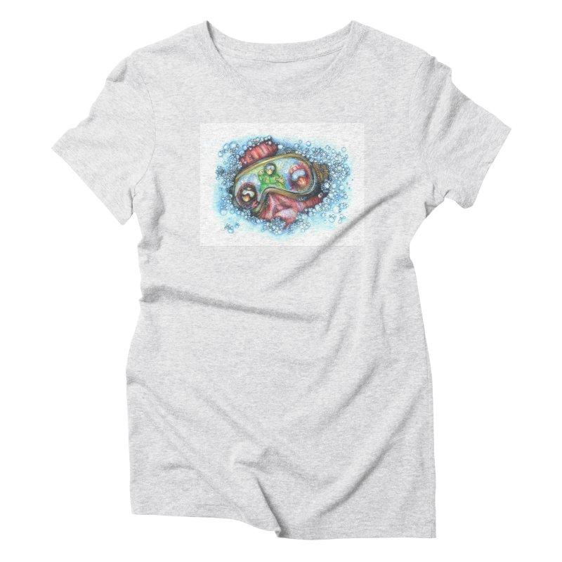 survivor Women's Triblend T-Shirt by okik's Artist Shop