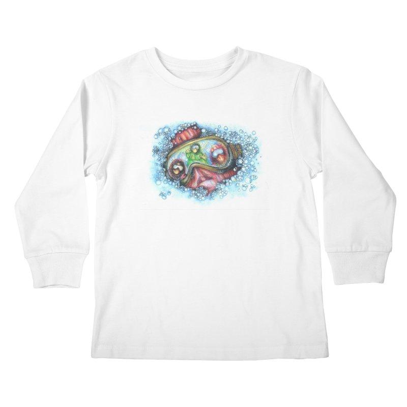 survivor Kids Longsleeve T-Shirt by okik's Artist Shop