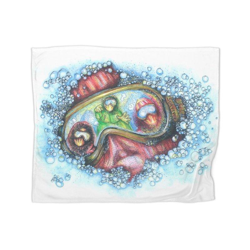 survivor Home Blanket by okik's Artist Shop