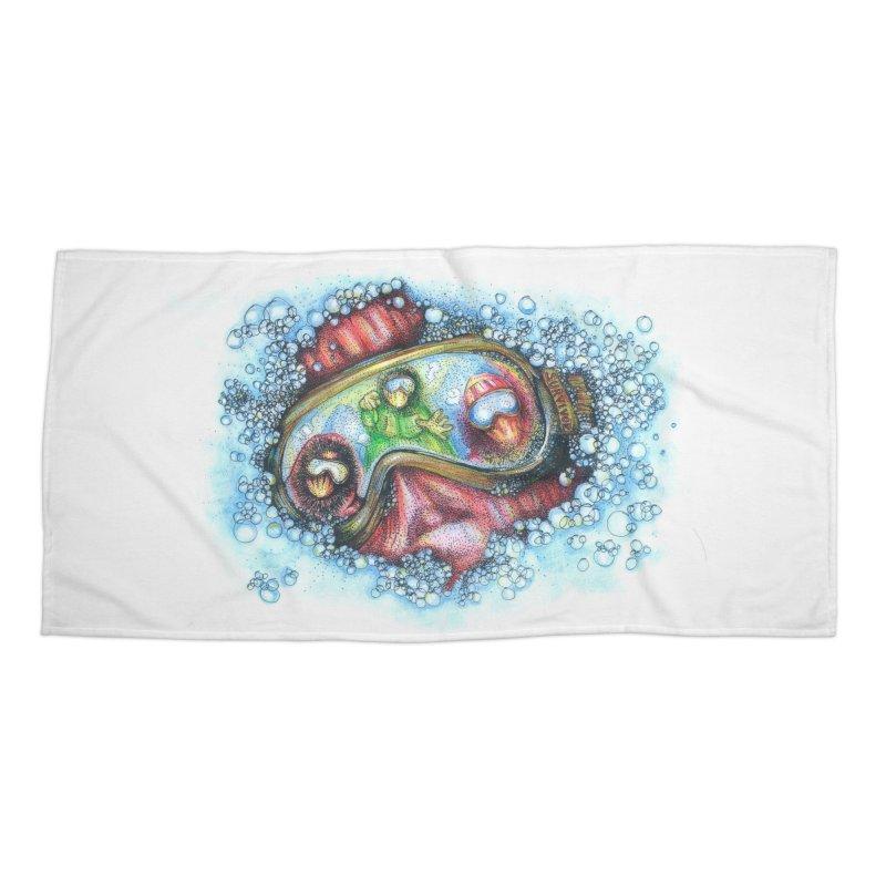 survivor Accessories Beach Towel by okik's Artist Shop