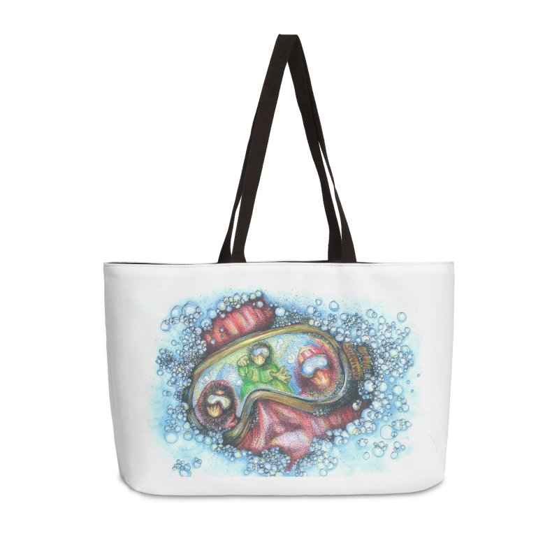 survivor Accessories Weekender Bag Bag by okik's Artist Shop