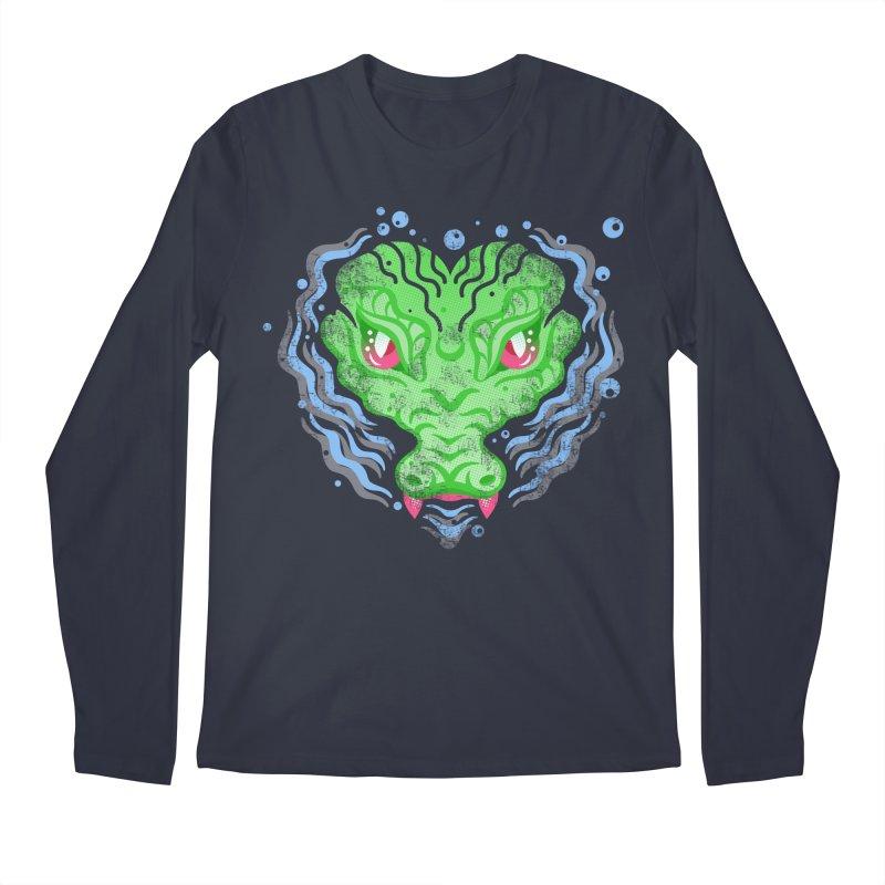 luv u 2 death Men's Regular Longsleeve T-Shirt by okik's Artist Shop