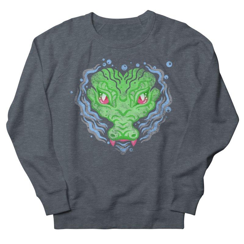 luv u 2 death Women's French Terry Sweatshirt by okik's Artist Shop