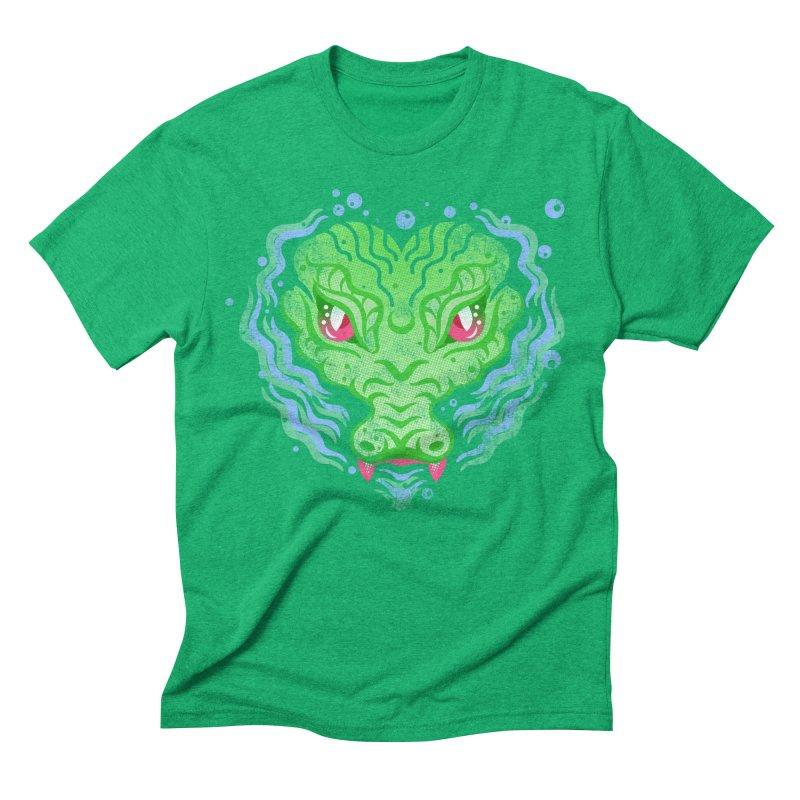 luv u 2 death Men's Triblend T-Shirt by okik's Artist Shop