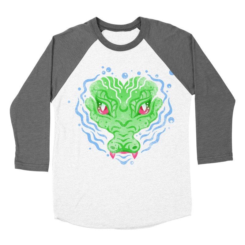 luv u 2 death Women's Baseball Triblend Longsleeve T-Shirt by okik's Artist Shop