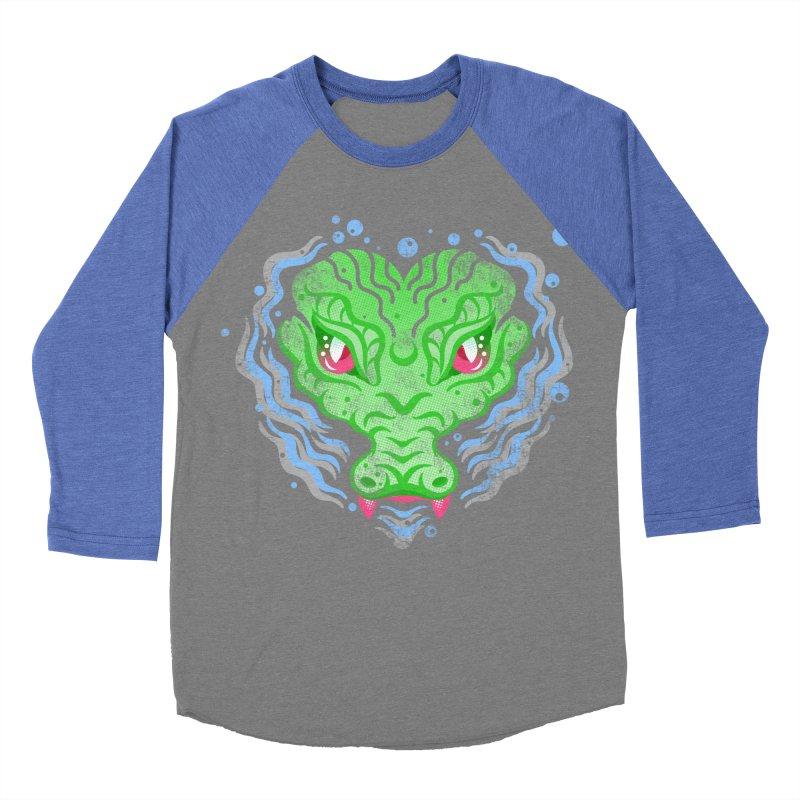 luv u 2 death Men's Baseball Triblend Longsleeve T-Shirt by okik's Artist Shop