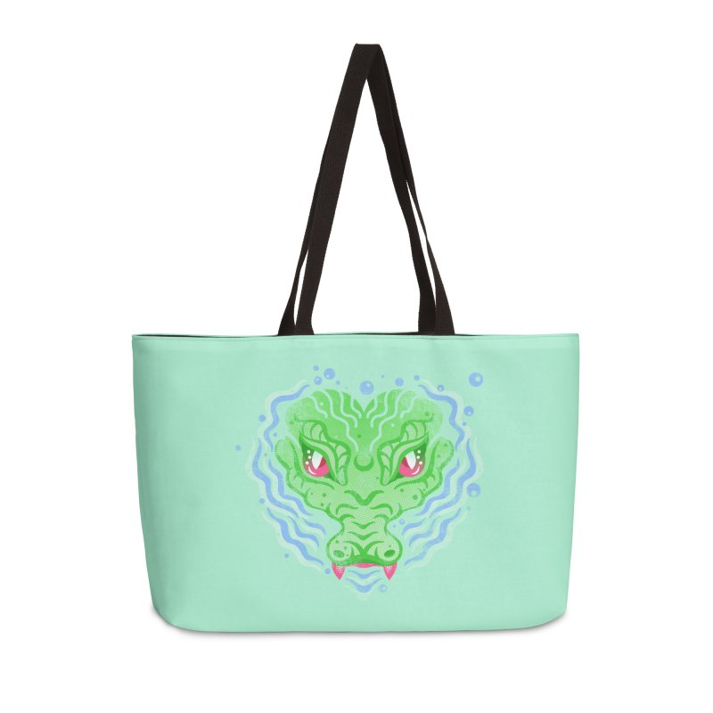 luv u 2 death Accessories Weekender Bag Bag by okik's Artist Shop