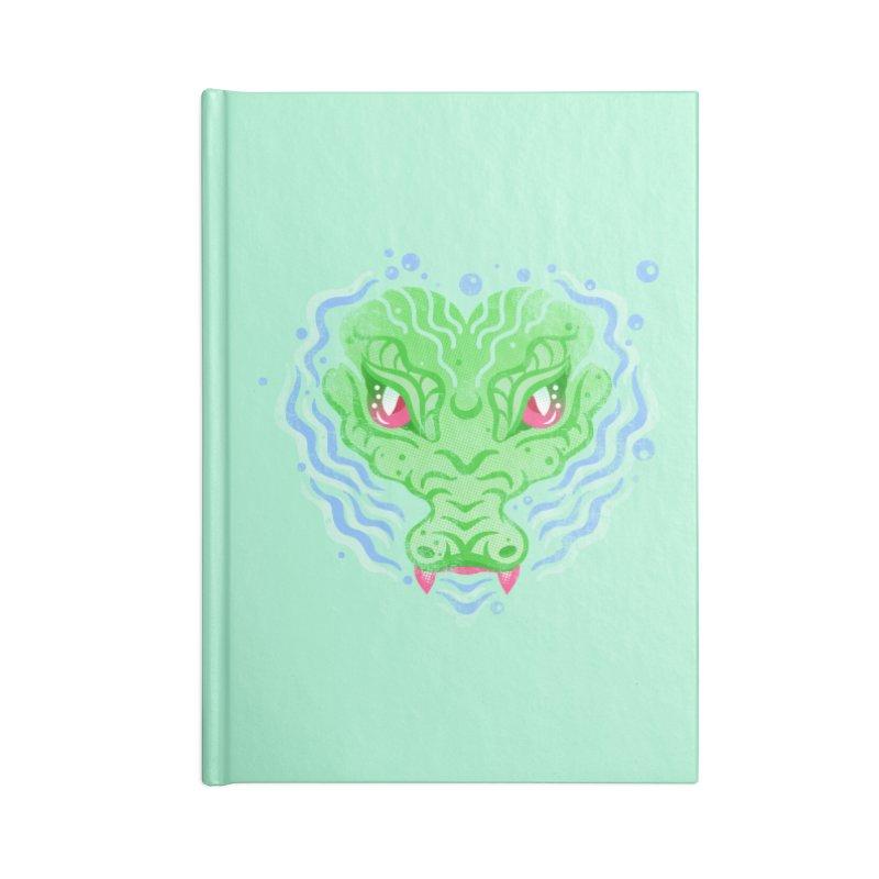 luv u 2 death Accessories Lined Journal Notebook by okik's Artist Shop