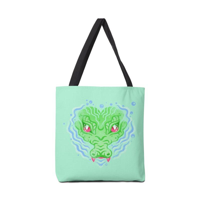 luv u 2 death Accessories Tote Bag Bag by okik's Artist Shop
