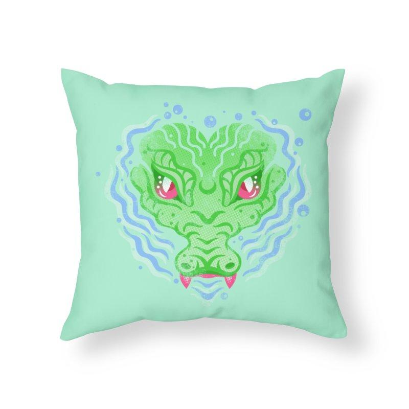 luv u 2 death Home Throw Pillow by okik's Artist Shop