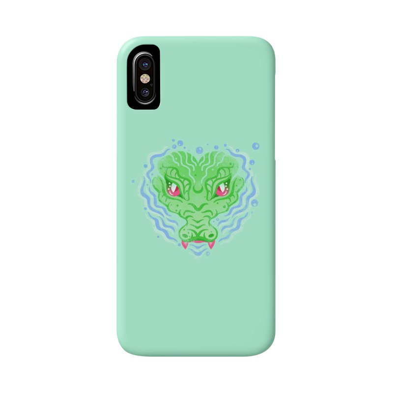 luv u 2 death Accessories Phone Case by okik's Artist Shop