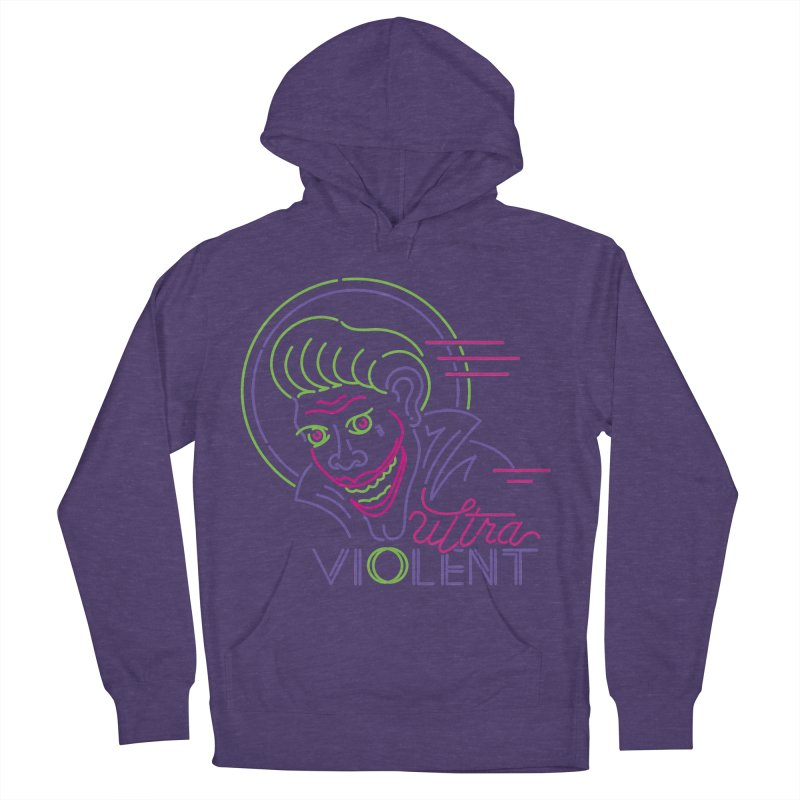 ultra violent Women's French Terry Pullover Hoody by okik's Artist Shop