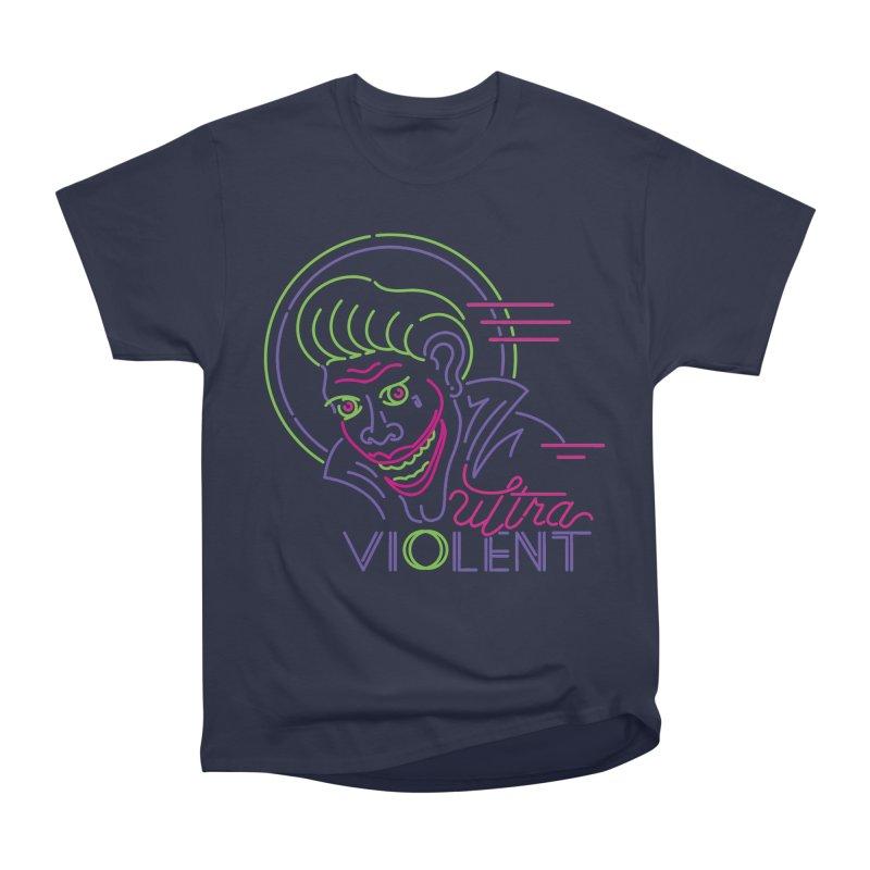 ultra violent Men's Heavyweight T-Shirt by okik's Artist Shop