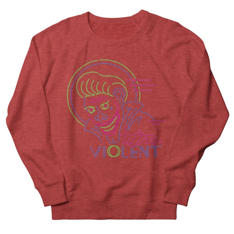 ultra violent Men's Sweatshirt by okik's Artist Shop