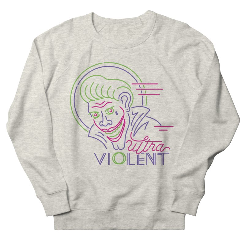 ultra violent Men's French Terry Sweatshirt by okik's Artist Shop