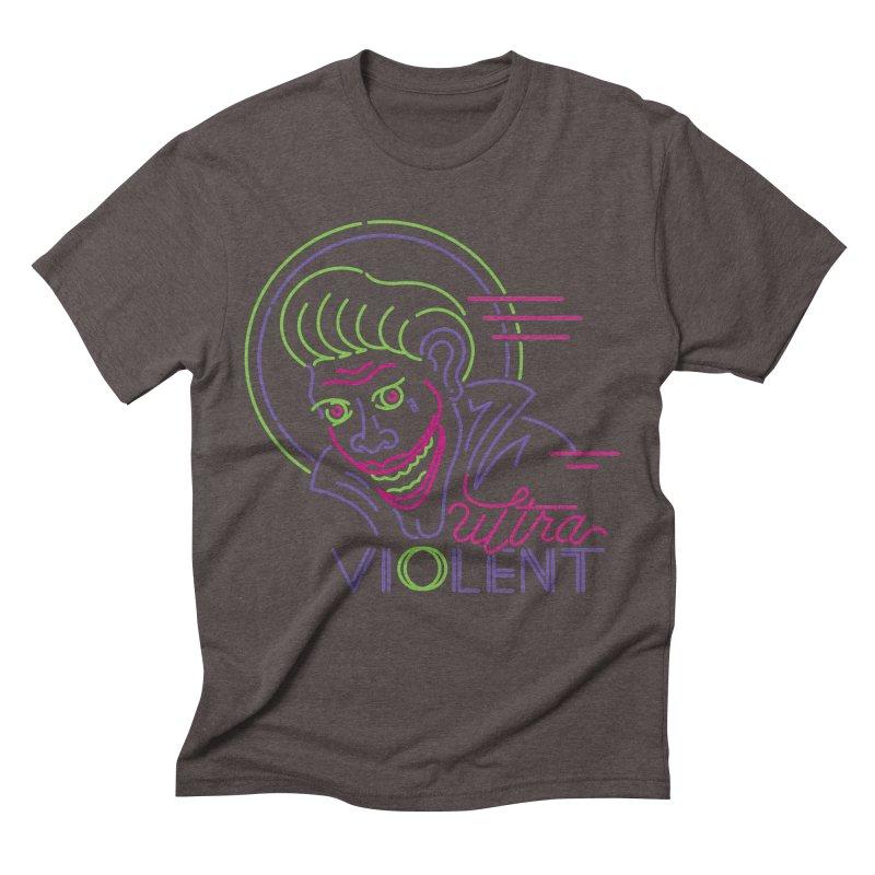 ultra violent Men's Triblend T-Shirt by okik's Artist Shop