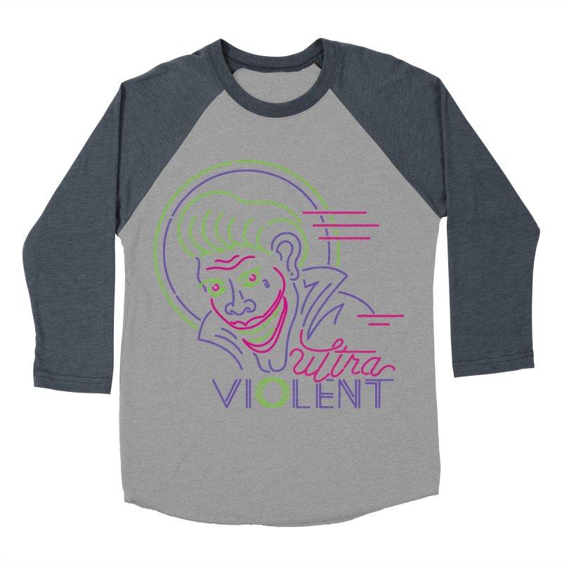 ultra violent Women's Baseball Triblend Longsleeve T-Shirt by okik's Artist Shop