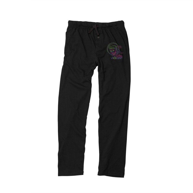 ultra violent Men's Lounge Pants by okik's Artist Shop