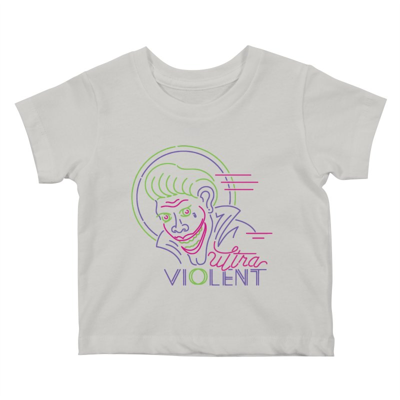 ultra violent Kids Baby T-Shirt by okik's Artist Shop
