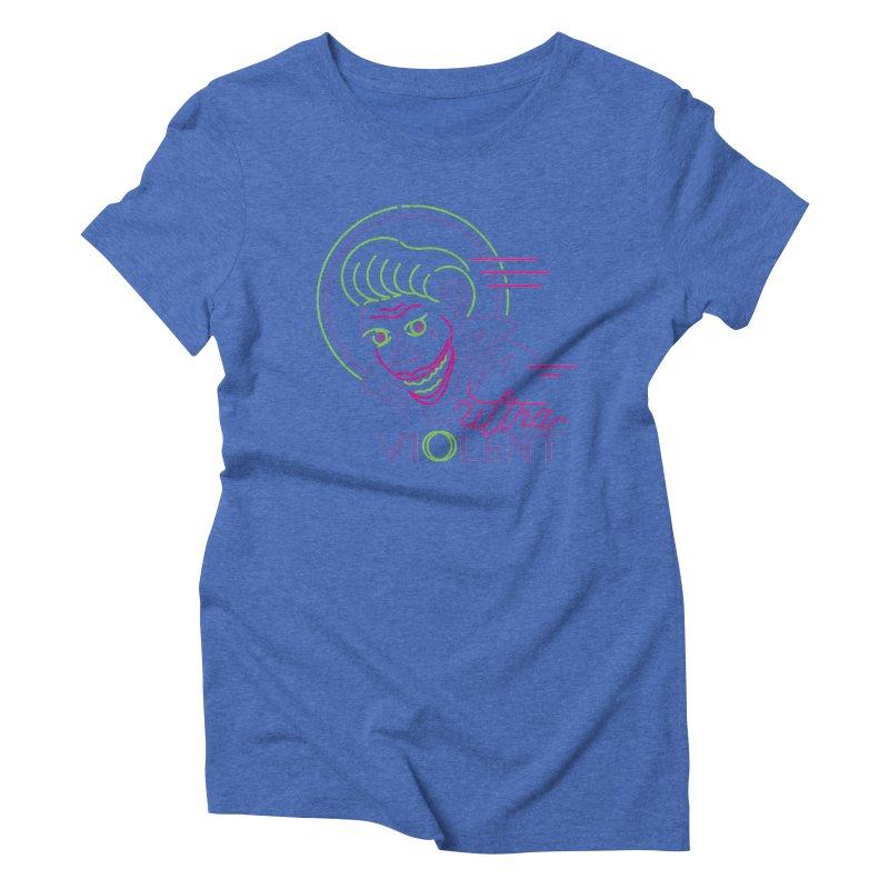 ultra violent Women's Triblend T-Shirt by okik's Artist Shop