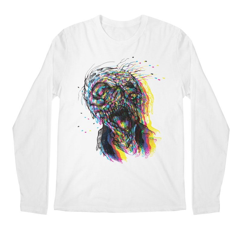 apokalipz now! Men's Regular Longsleeve T-Shirt by okik's Artist Shop