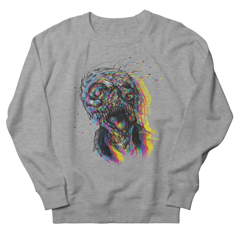 apokalipz now! Women's French Terry Sweatshirt by okik's Artist Shop