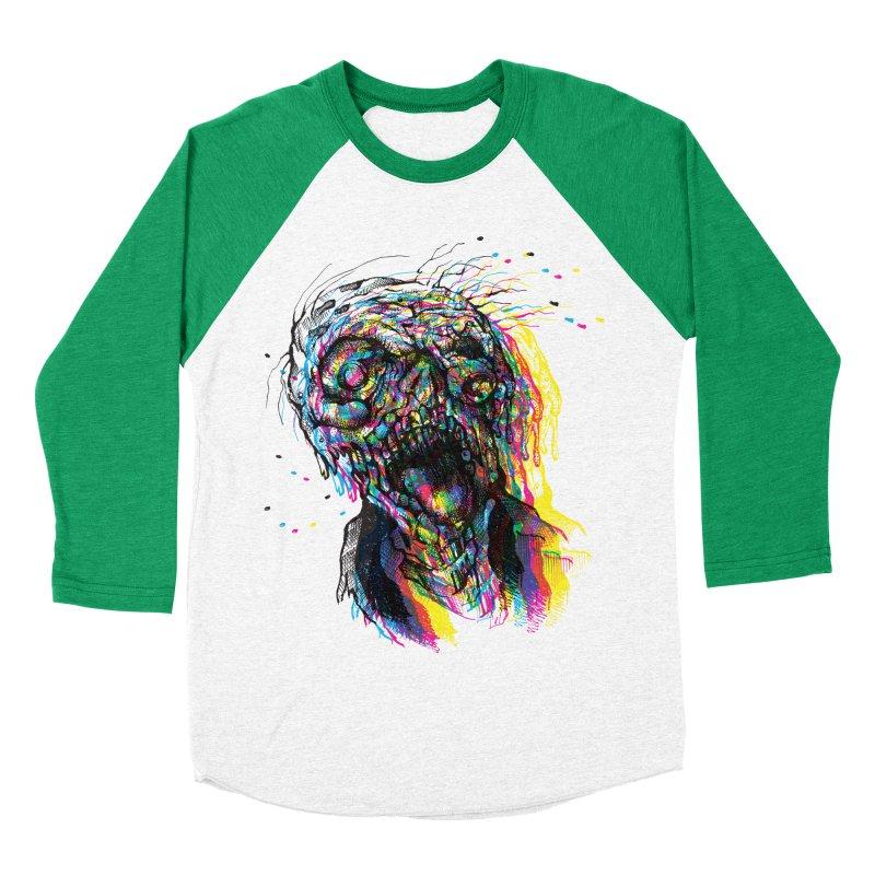 apokalipz now! Women's Baseball Triblend Longsleeve T-Shirt by okik's Artist Shop