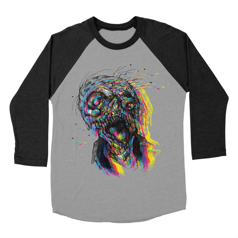 apokalipz now! Men's Baseball Triblend Longsleeve T-Shirt by okik's Artist Shop