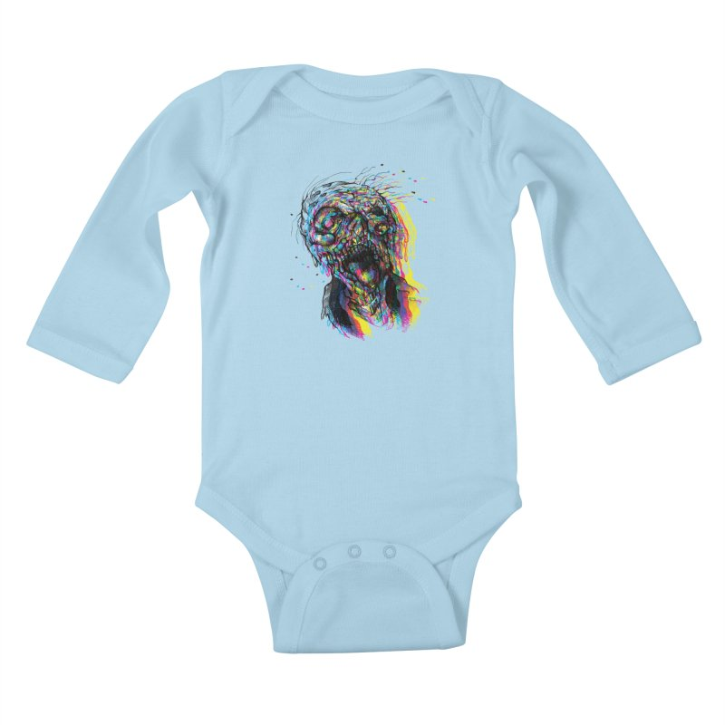 apokalipz now! Kids Baby Longsleeve Bodysuit by okik's Artist Shop