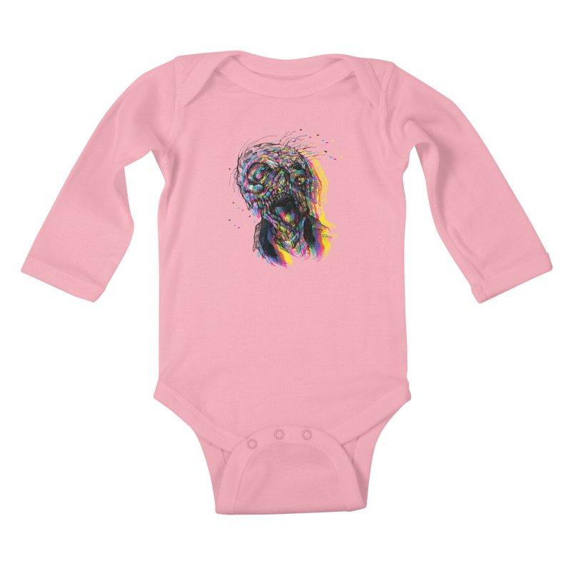 apokalipz now! Kids Baby Longsleeve Bodysuit by okik's Artist Shop