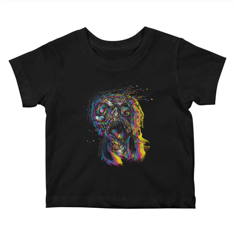 apokalipz now! Kids Baby T-Shirt by okik's Artist Shop