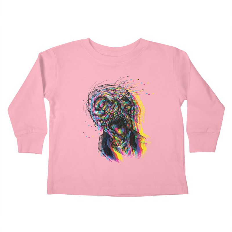 apokalipz now! Kids Toddler Longsleeve T-Shirt by okik's Artist Shop
