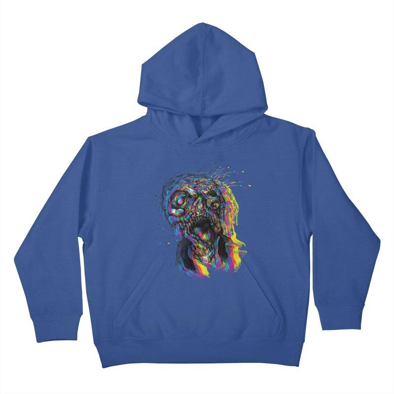 apokalipz now! Kids Pullover Hoody by okik's Artist Shop