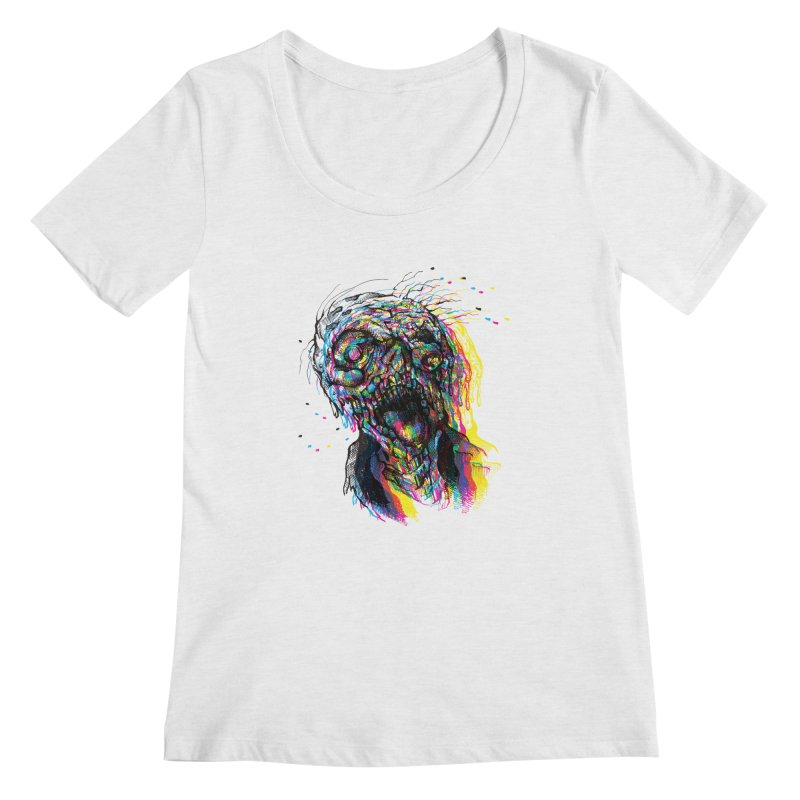 apokalipz now! Women's Regular Scoop Neck by okik's Artist Shop