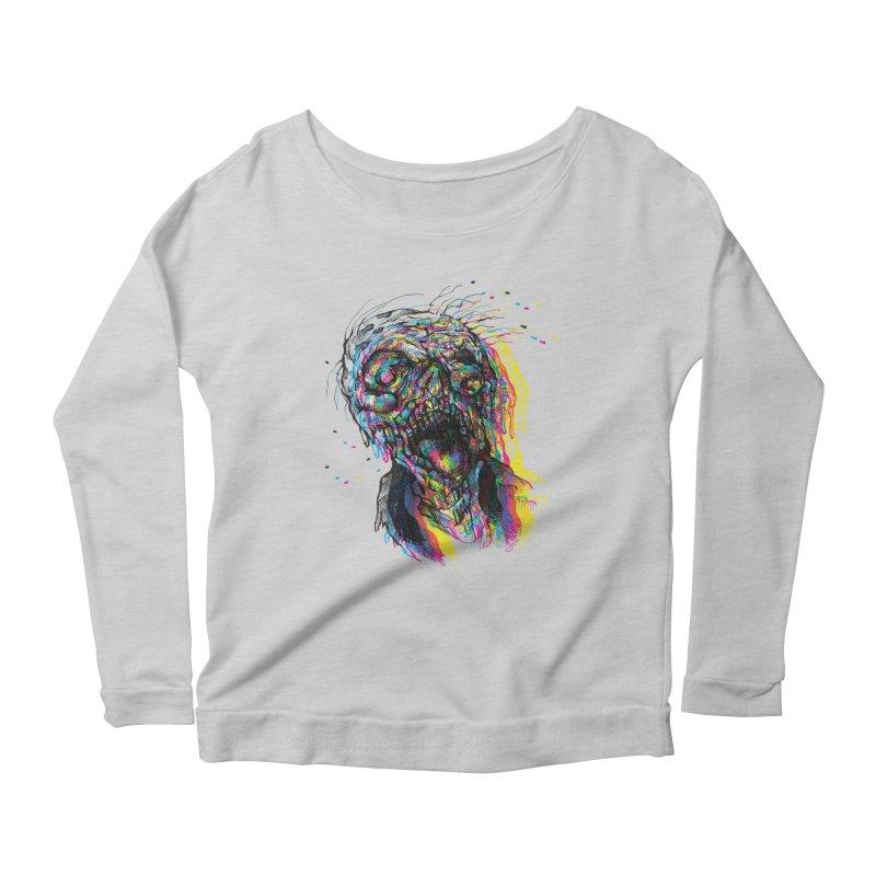 apokalipz now! Women's Scoop Neck Longsleeve T-Shirt by okik's Artist Shop