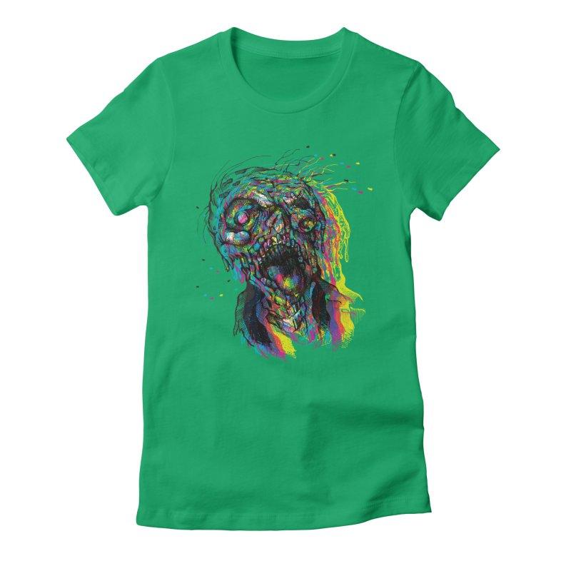 apokalipz now! Women's Fitted T-Shirt by okik's Artist Shop
